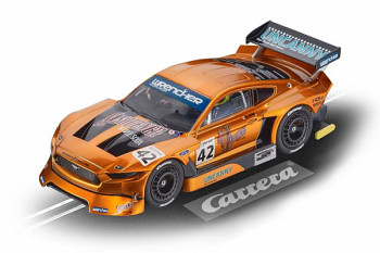 Ford Mustang GTY No.42 - Auto Carrera D132 - 30976